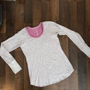 Lululemon reversible lightweight sweatshirt